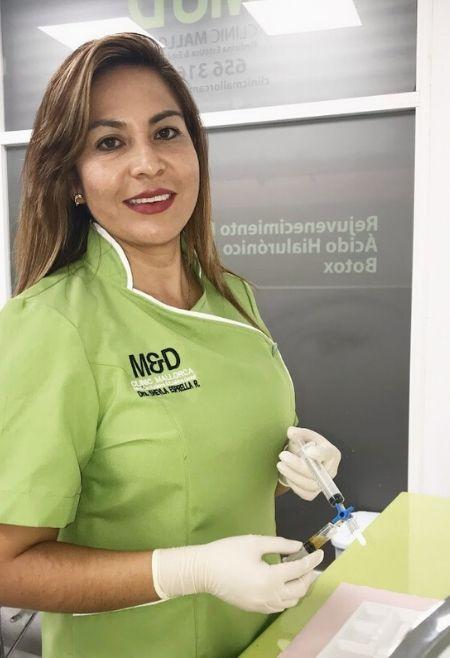 Preparando-el-Tratamiento-Eliminación-de-Varices-Estética-Corporal-Clinic-Mallorca-MED